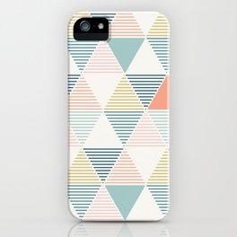 Modern Geometric iPhone Case