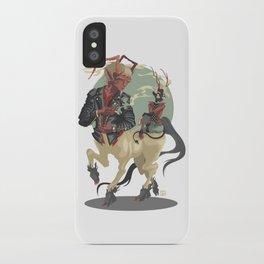 Rockabil Sagittarus iPhone Case