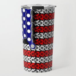 Bike USA Flag Travel Mug