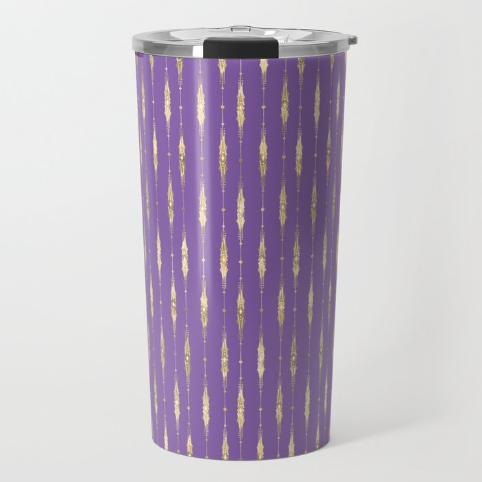 old violet great coat. Travel Mug