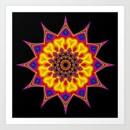 kaleidoscopic pattern -03- Kunstdrucke