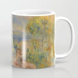 "Auguste Renoir ""Étude de baigneuses"" Coffee Mug"