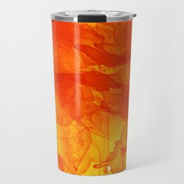 Microcosmos Rojo Travel Mug