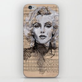Monroe Music Sheet iPhone Skin