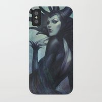 artgerm iPhone & iPod Cases featuring Wicked by Artgerm™