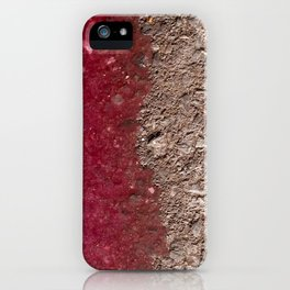 Grape Asphalt iPhone Case