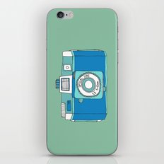 Holga Camera in Blue iPhone & iPod Skin