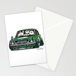 Crazy Car Art 0142 Stationery Cards