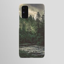Pacific Northwest River - Nature Photography Android Case