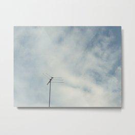 Air connection Metal Print