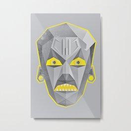 Metal Head Metal Print