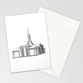 Mount Timpanogos LDS Temple Stationery Cards