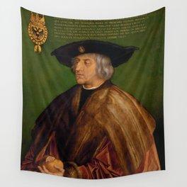 Albrecht Dürer - Portrait of Maximilian I Wall Tapestry