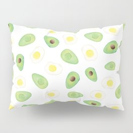 Avocados & Eggs Pillow Sham