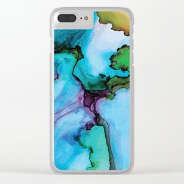 Abstract colorful pattern #society6 Clear iPhone Case