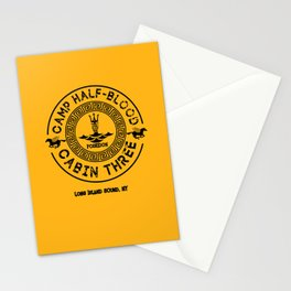 Percy Jackson - Camp Half-Blood - Cabin Three - Poseidon Stationery Cards