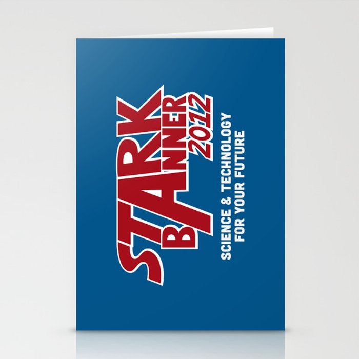 Stark Banner 2012 Stationery Cards