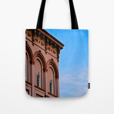 Cherubs on the Ledge Tote Bag