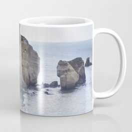 Tunnel Beach Coffee Mug
