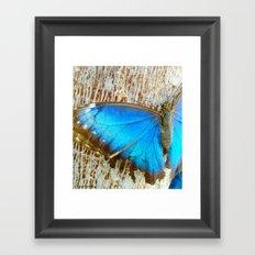 Blue Design Framed Art Print
