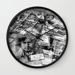 Rolling Stone Wall Clock