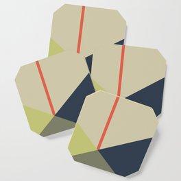 bandana || camou & coral Coaster