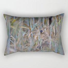 Brown Hare Rectangular Pillow