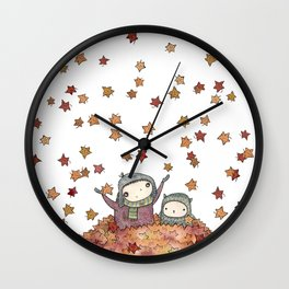 nesting season Wall Clock