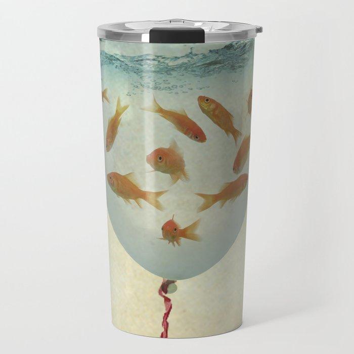 balloon fish 03 Travel Mug