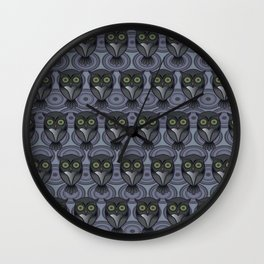 Owling Wall Clock