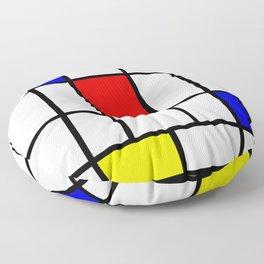 Mondrian #63 Floor Pillow