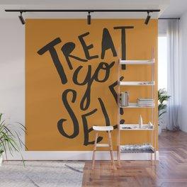 Halloween Treat Yo Self Wall Mural