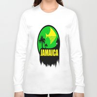 jamaica Long Sleeve T-shirts featuring JAMAICA VACATION  by Robleedesigns