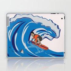 Pressing Waves Laptop & iPad Skin