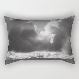 Dramatic Clouds Photograph Rectangular Pillow