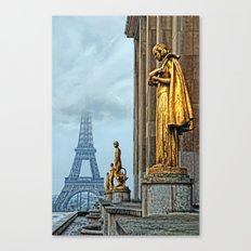 femmes parisiennes III Canvas Print