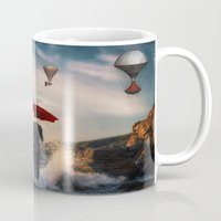 magritte Mugs featuring A la Magritte by Susann Mielke