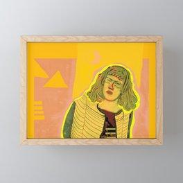 She Came To Stay I Framed Mini Art Print