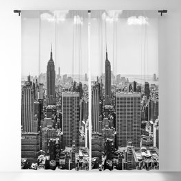 New York Skyline Blackout Curtain