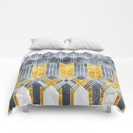 Turtle Shell Geometric | Art Deco Comforters