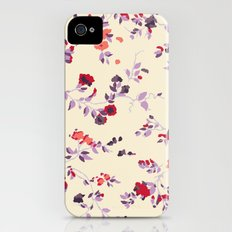 floral vines Slim Case iPhone (4, 4s)