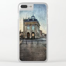 The Town Hall At Abingdon Clear iPhone Case