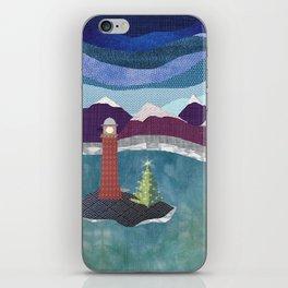 West Coast Christmas iPhone Skin