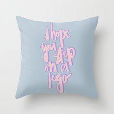 I Hope You Text Throw Pillow