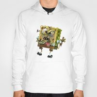 spongebob Hoodies featuring SpongeBob SquarePants by Tayfun Sezer