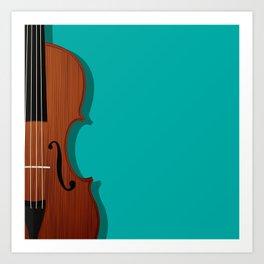 Violin Art Print