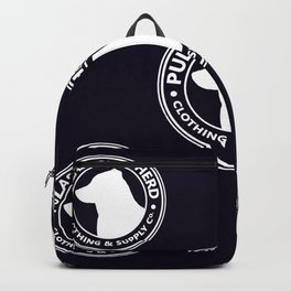 Two Rings on Blue Backpack
