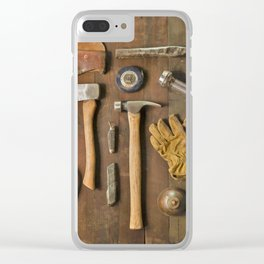 Tools (Color) Clear iPhone Case