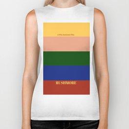 Rushmore minimalist poster Biker Tank