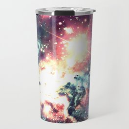 Fox Fur Nebula : Deep Pastels Galaxy Travel Mug